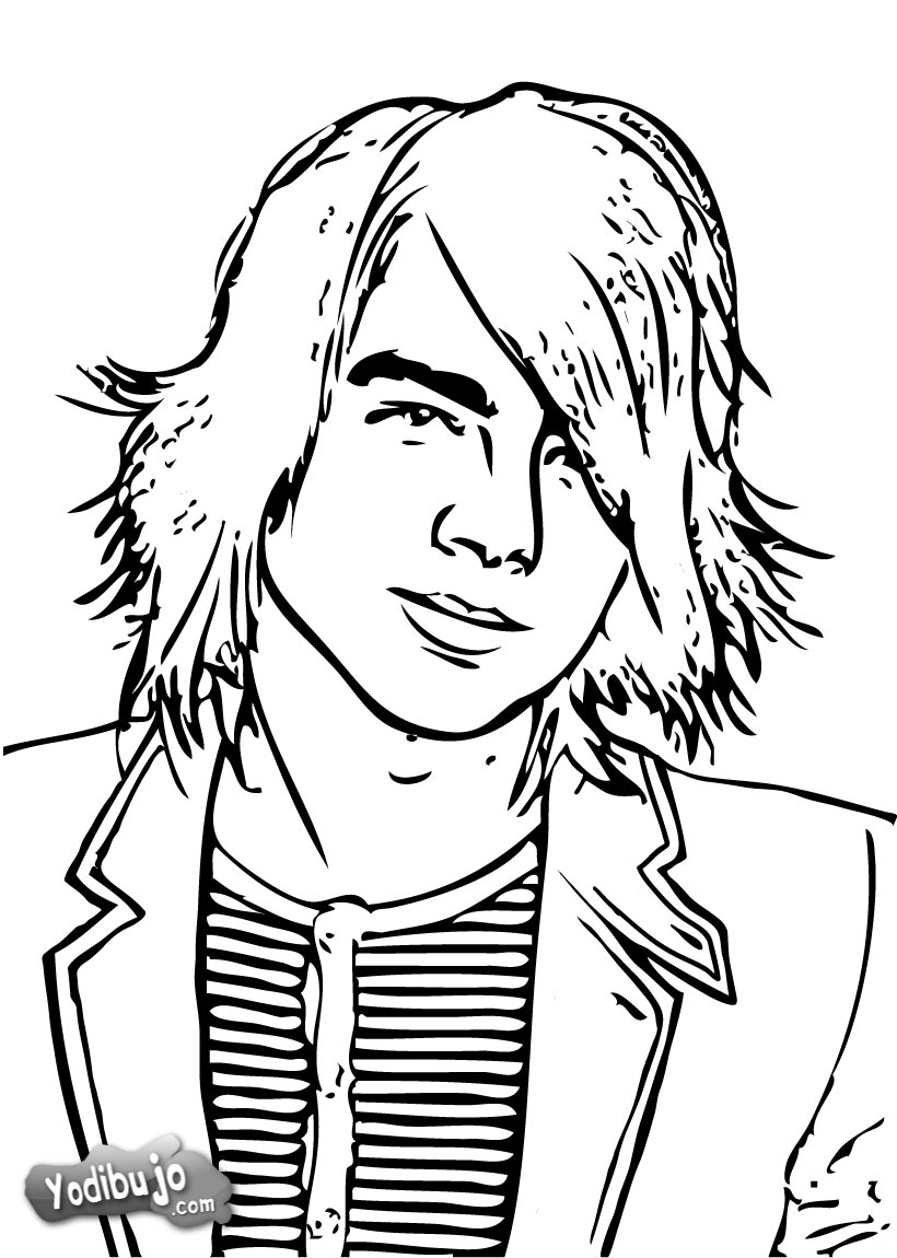 Piano Learning Articles Jonas Brothers Coloring Pages